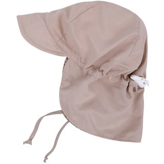 UPF 50 Sun Protection Baby Hat w/ Neck Flap and Drawstring (3 options available)