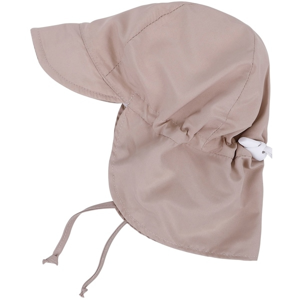 06bbac18705 Shop UPF 50 Sun Protection Baby Hat w  Neck Flap and Drawstring - On ...