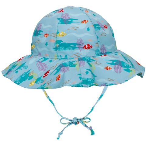 UPF 50 Sun Protection Wide Brim Baby Sun Hat