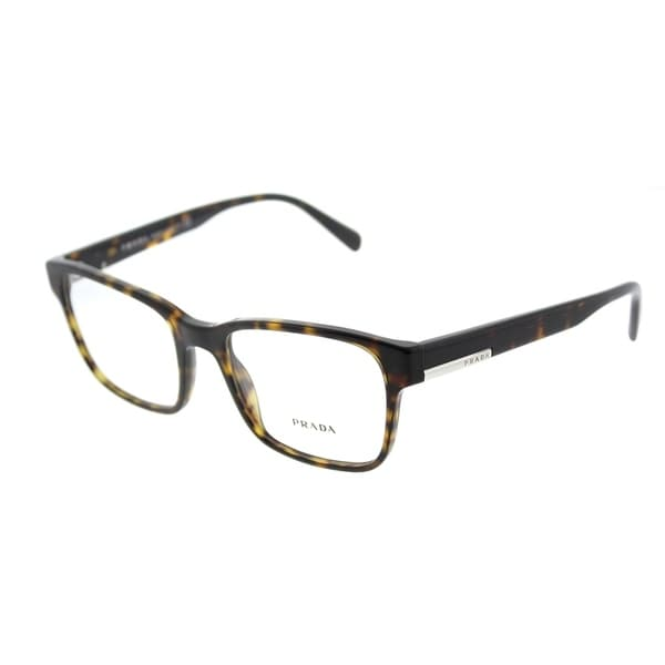 d5376cc7fda6 Shop Prada Rectangle PR 06UV 2AU1O1 Unisex Havana Frame Eyeglasses ...