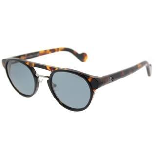 Moncler Round ML 0019 20V Unisex Havana Frame Blue Lens Sunglasses https://ak1.ostkcdn.com/images/products/17780753/P23978419.jpg?impolicy=medium