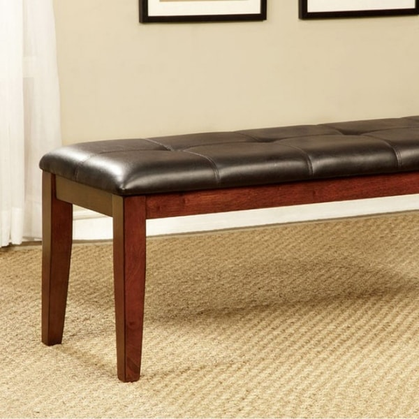 Foxville Transitional Bench, Cherry