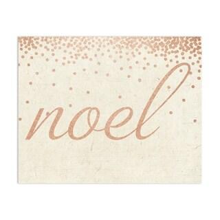 Kavka Designs Noel Rose Handmade Paper Print By Terri Ellis