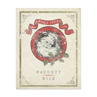 NAUGHTY NICE Handmade Paper Print By Terri Ellis (2 options available)