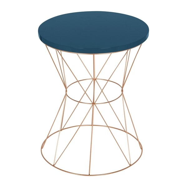 Exceptionnel Kate And Laurel Mendel Round Metal End Table