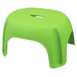 Plastic Step Stool (Option: Green)