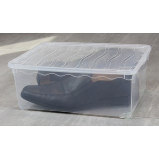 Plastic Storage Container, Shoe box