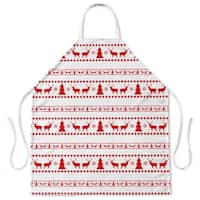 Kavka Designs Deer And Trees Apron By Terri Ellis