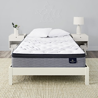 Queen size mattress and box spring Split Serta Perfect Sleeper Wayburn Super Pillow Top Mattress Afw Buy Queen Size Mattresses Online At Overstockcom Our Best Bedroom