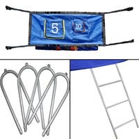 Skywalker Trampolines 3-Rung Ladder and Game Kit