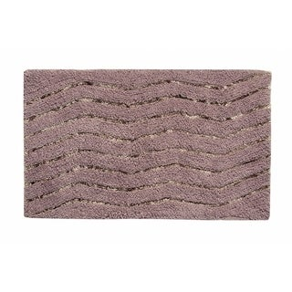 "Artesia 17""X24"" Grey Bath Rug"