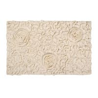 "Bellflower 24""X40"" Natural Bath Rug"