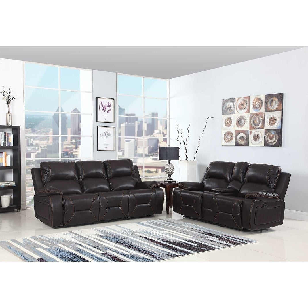 Leather Air/Match Upholstered 2-Piece Living Room Recliner Sets | eBay