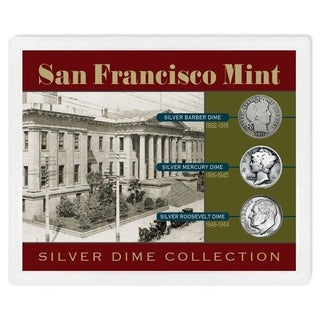 San Francisco Mint Silver Dime Collection