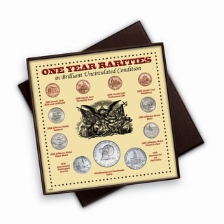 One Year Rarities Eleven Coin Display Boxed Set