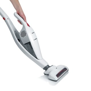 Severin Germany 2 in 1 Upright And Cordless Handheld Bagless Lithium Ion Vacuum Cleaner (Snow White)