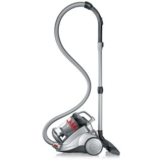 Severin Germany NonstopXL Bagless Canister Vacuum Cleaner (Polar Silver)