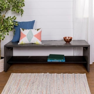 Link to 58-inch Reclaimed Entry Bench with Lower Shelf Similar Items in Living Room Furniture
