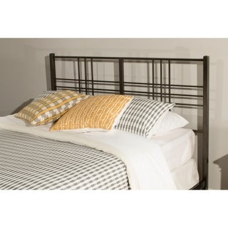Manhattan Pewter Metal Twin Headboard with No Frame