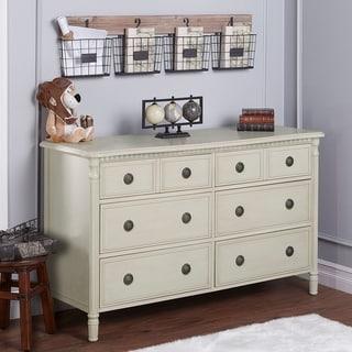 Evolur Julienne White Wood Double Dresser