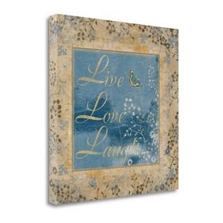 Live By Artique Studio,  Gallery Wrap Canvas