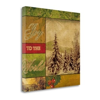 Joy To The World II By Artique Studio,  Gallery Wrap Canvas