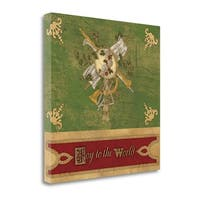 Joy To The World By Artique Studio,  Gallery Wrap Canvas