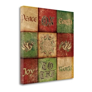 Peace On Earth By Artique Studio,  Gallery Wrap Canvas