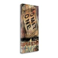 Superstar By Eric Yang,  Gallery Wrap Canvas