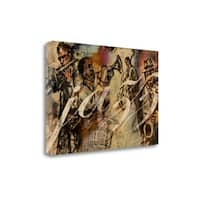 Jazz By Eric Yang,  Gallery Wrap Canvas