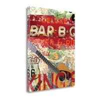 Deluxe Barbq By Eric Yang,  Gallery Wrap Canvas
