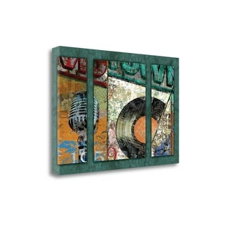 Hits Town 1959 - Triptych By Eric Yang,  Gallery Wrap Canvas