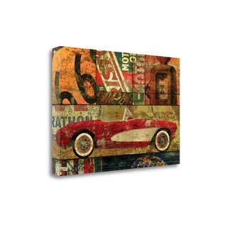 Cruisin On 66 I By Eric Yang,  Gallery Wrap Canvas