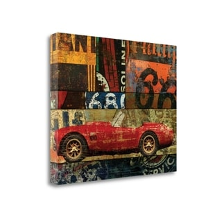 Cruisin On 66 II By Eric Yang,  Gallery Wrap Canvas