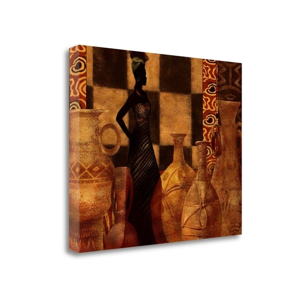 Woman Of Culture By Eric Yang, Gallery Wrap Canvas