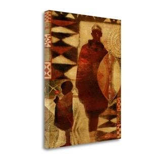 Father And Son By Eric Yang,  Gallery Wrap Canvas