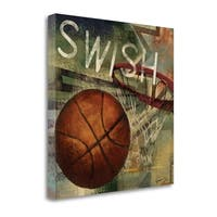 Swish By Eric Yang,  Gallery Wrap Canvas
