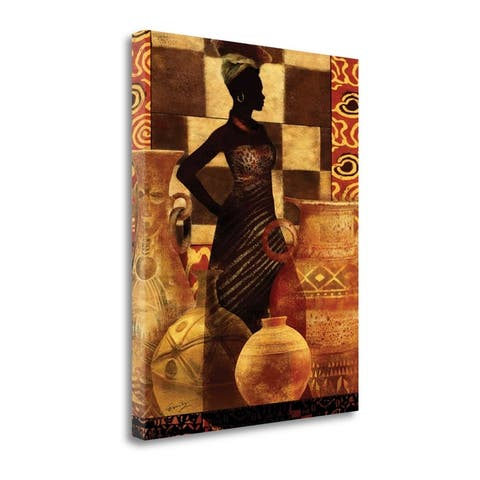 African Traditions I By Eric Yang, Gallery Wrap Canvas