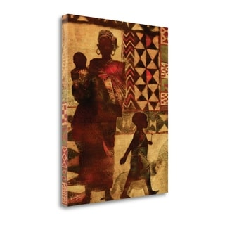Mother And Children By Eric Yang,  Gallery Wrap Canvas