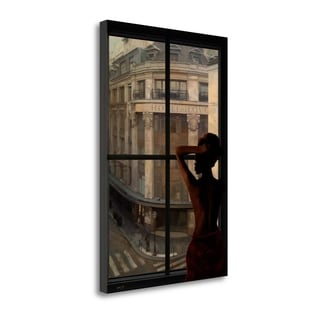 Parisien Affairs II By Eric Yang,  Gallery Wrap Canvas