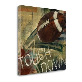 Touch Down By Eric Yang,  Gallery Wrap Canvas