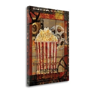 Movie Popcorn By Eric Yang, Gallery Wrap Canvas