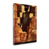 African Traditions II By Eric Yang,  Gallery Wrap Canvas