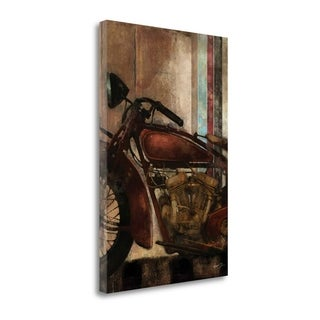Moto Details II By Eric Yang,  Gallery Wrap Canvas