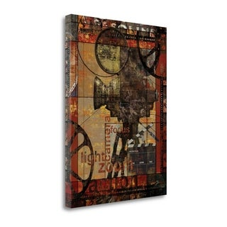 Movie Camera By Eric Yang, Gallery Wrap Canvas