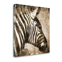 African Animals II - Sepia By Eric Yang,  Gallery Wrap Canvas