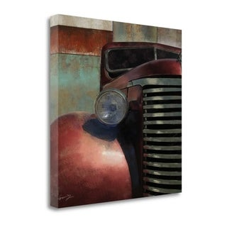Nosed Hot Rod By Eric Yang,  Gallery Wrap Canvas