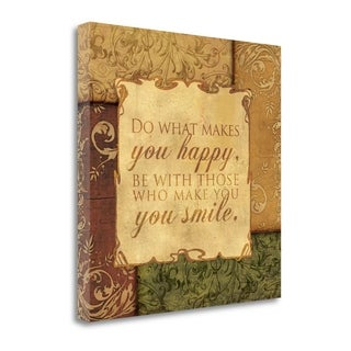 Smile By Piper Ballantyne,  Gallery Wrap Canvas