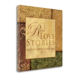 Real Love Stories By Piper Ballantyne,  Gallery Wrap Canvas
