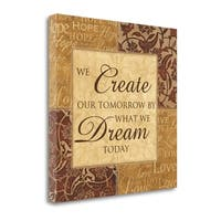 Create Our Tomorrow By Piper Ballantyne,  Gallery Wrap Canvas